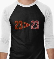 LeBron Greater Than Jordan (Black) T-Shirt