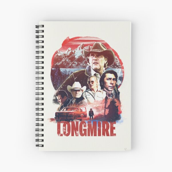 Longmire Spiral Notebook