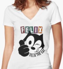 Yummy Women's Fitted V-Neck T-Shirt
