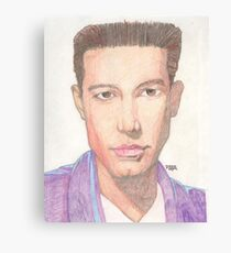 Actor Ben Affleck Canvas Print