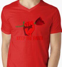 Jeremy Corbyn - Keep The Faith // LABOUR PARTY ROSE T-Shirt