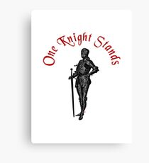 When One Knight Stands Canvas Print