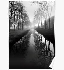 Film photography: Black and white morning Poster