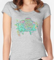 Smile for the Camera Women's Fitted Scoop T-Shirt