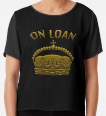 A Crown On Loan Chiffon Top