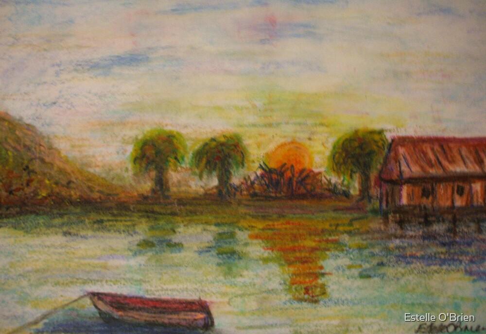 Tropical Sunset by Estelle O'Brien