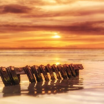 Port Fairy Bokeh Sunrise by hangingpixels