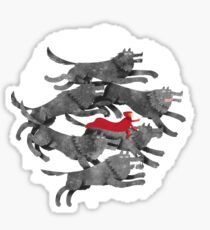 Run with the pack Sticker