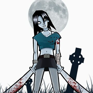 Mandy the Rock Zombie by boothy