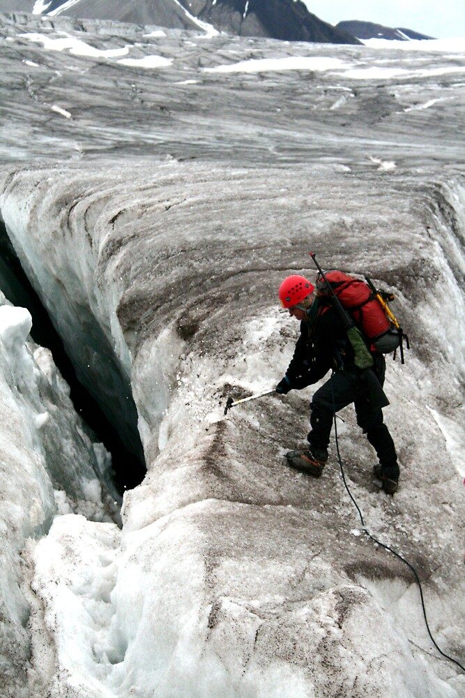Glacier treking, Svalbard by BenGartrell