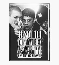 La Haine  Photographic Print
