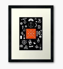 Bon Iver - 22 a Million Framed Print