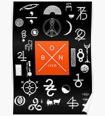 Bon Iver - 22 a Million Poster