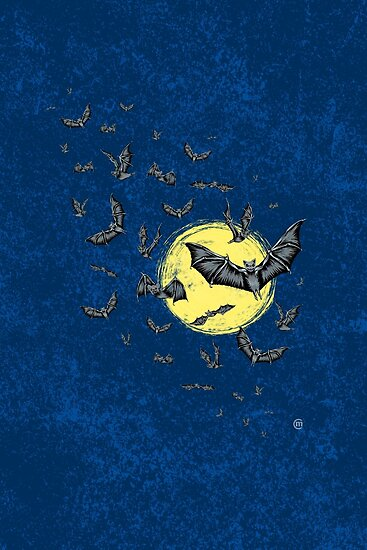 Bat Swarm (Shirt) by . VectorInk