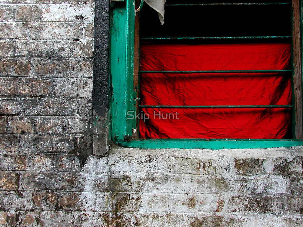 Dharamsala Window by Skip Hunt