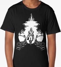Guns and Ships Long T-Shirt