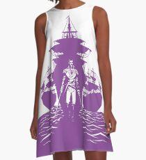 Guns and Ships A-Line Dress