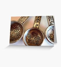 Measuring Spoons Greeting Card