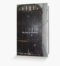 The Door of no Return at Cape Coast Greeting Card