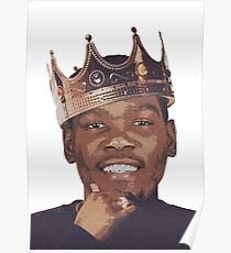 King Kevin Durant  Poster
