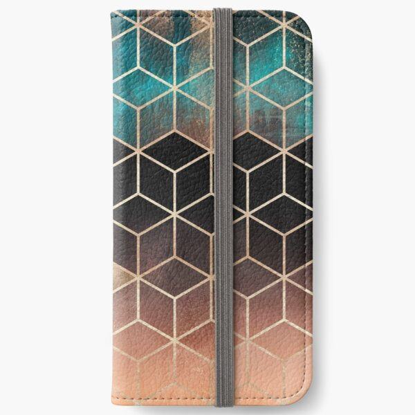 Ombre Dream Cubes iPhone Wallet