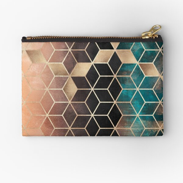Ombre Dream Cubes Zipper Pouch