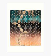 Omre Dream Cubes Art Print