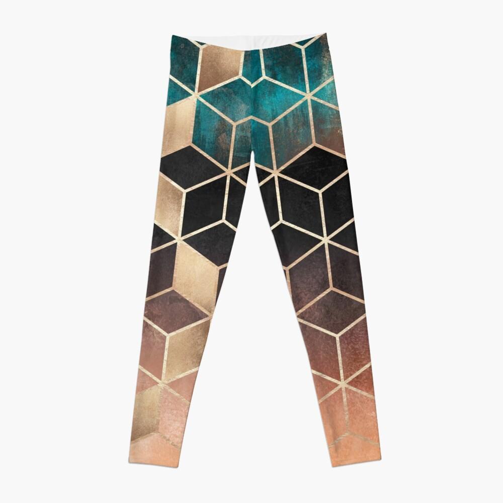 Ombre Dream Cubes Leggings