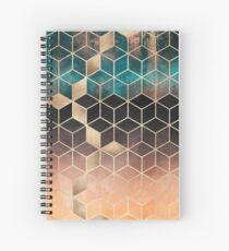 Omre Dream Cubes Spiral Notebook