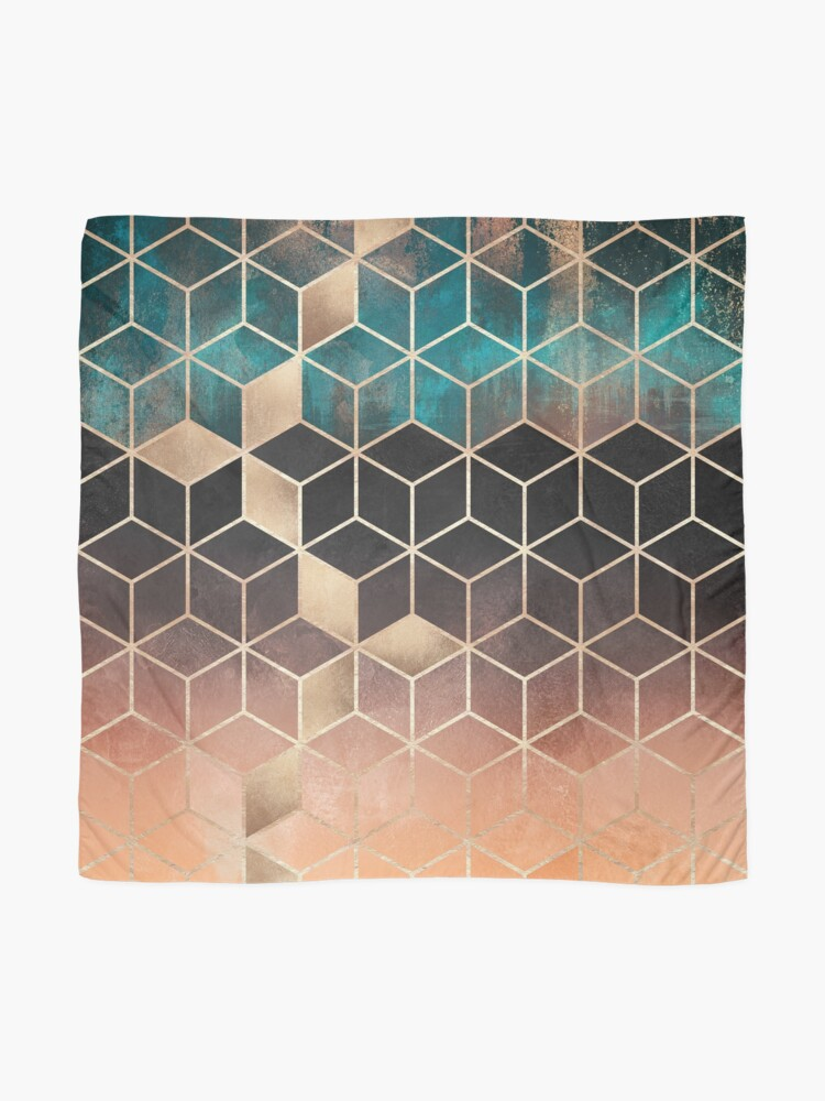 Alternate view of Ombre Dream Cubes Scarf