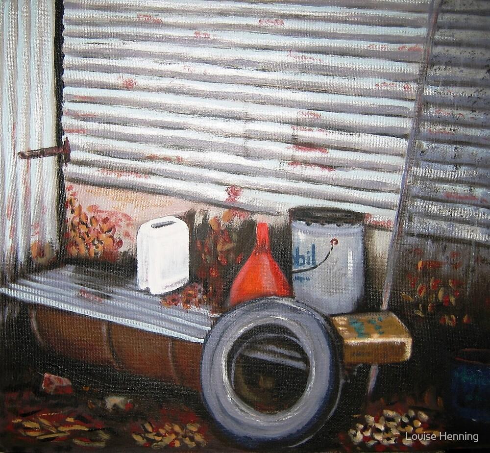Garage stuff by Louise Henning
