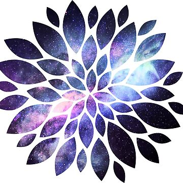 Galaxy flower by Lalale