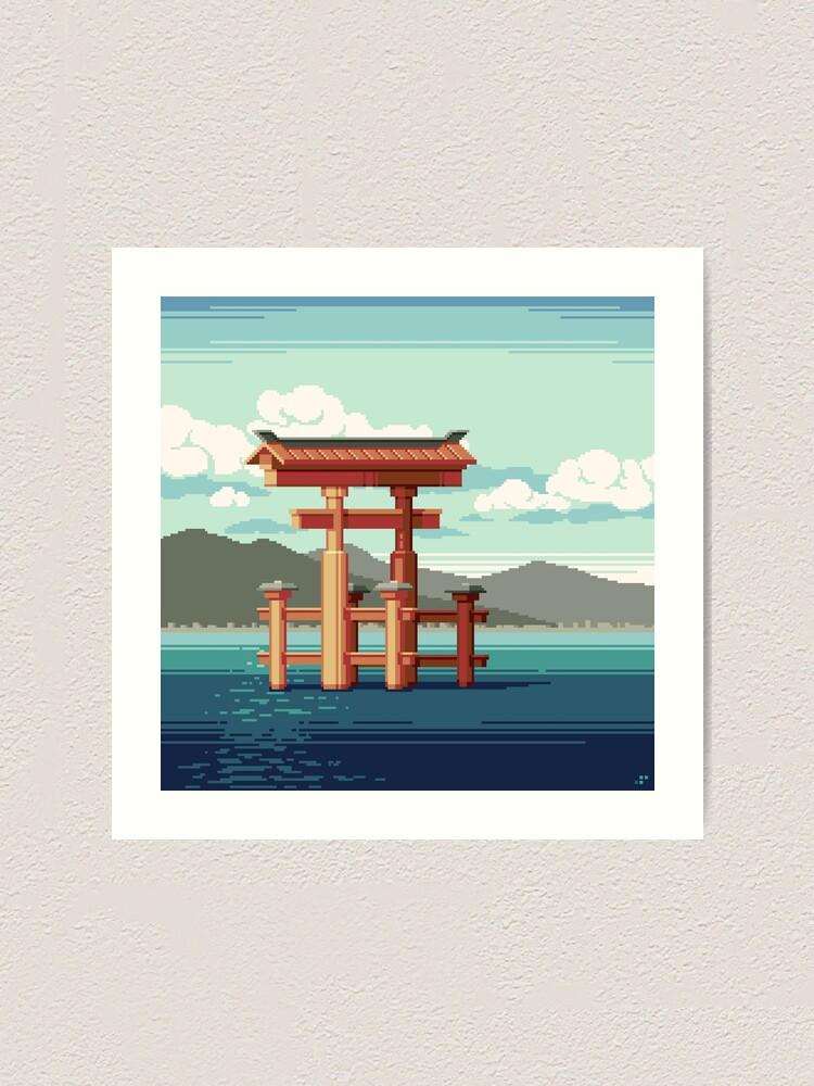 Alternate view of Torii Art Print