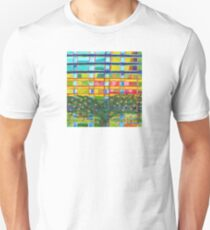 Tree In Front Of A Building Unisex T-Shirt