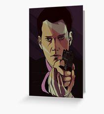 Torchwood - Ianto Jones Greeting Card