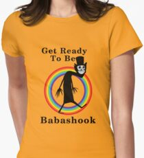 Babashook LGBT Womens Fitted T-Shirt