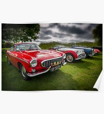 Volvo P1800 Coupe  Poster