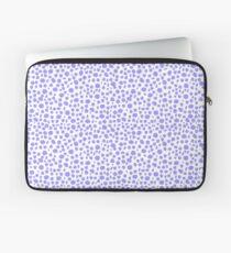 Small Random Dots Salmon blue Laptop Sleeve