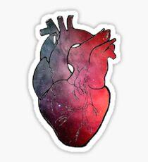 Heart Galaxy Sticker