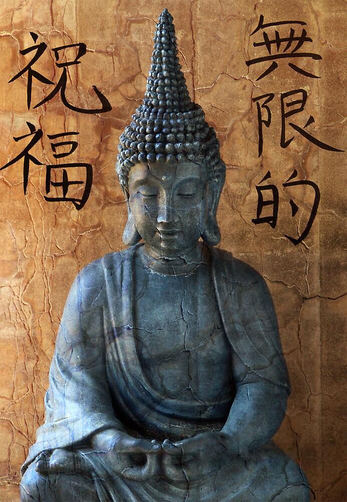 Blessings Buddha by Judy Olson