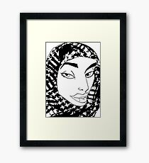 Palestinian Woman Framed Print