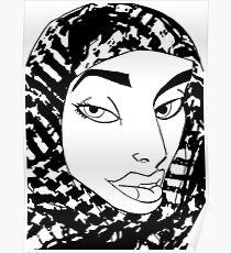 Palestinian Woman Poster