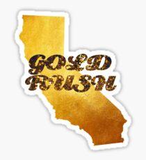 California Gold Rush Sticker
