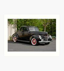 1940 Ford Deluxe Coupe I Art Print