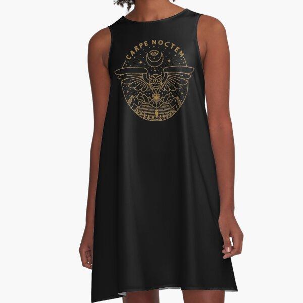 Carpe Noctem A-Line Dress