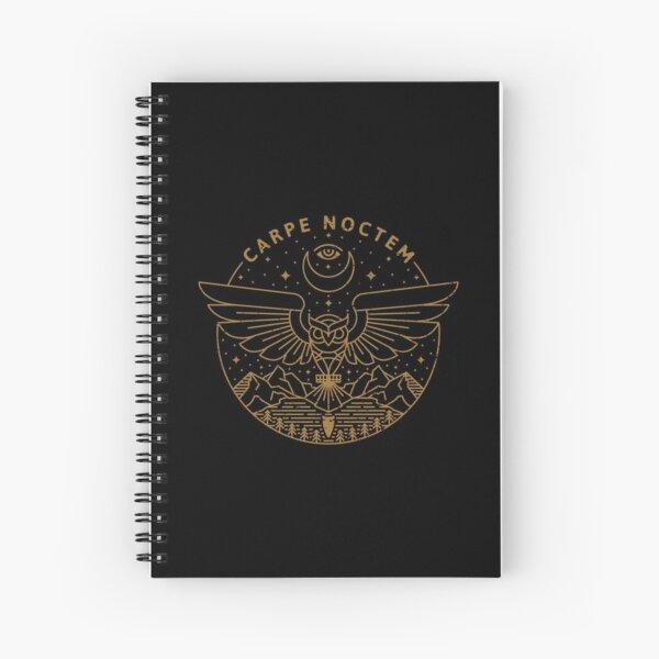 Carpe Noctem Spiral Notebook