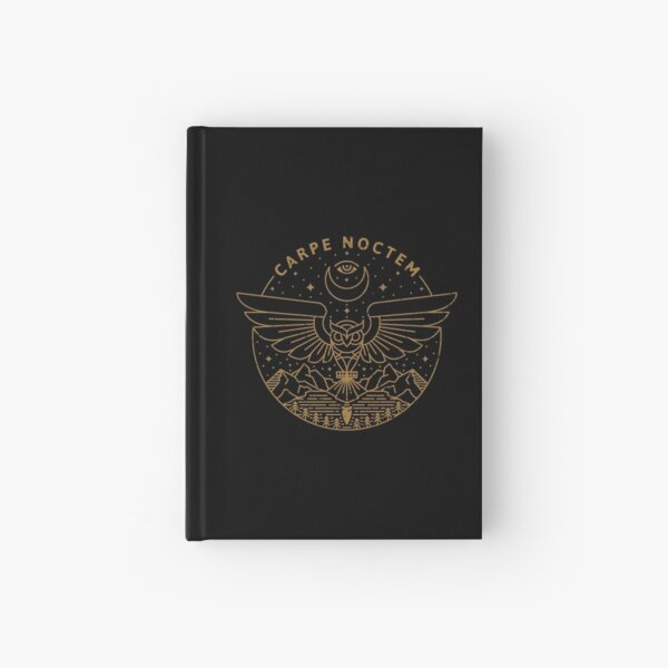 Carpe Noctem Hardcover Journal