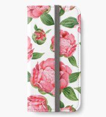Watercolor Peonies iPhone Wallet/Case/Skin