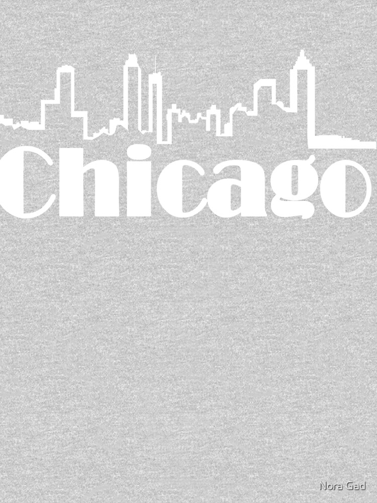 Chicago Text Black by NoraMohammed