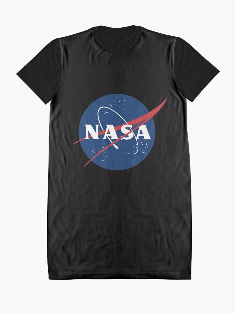 Alternate view of Nasa Graphic T-Shirt Dress